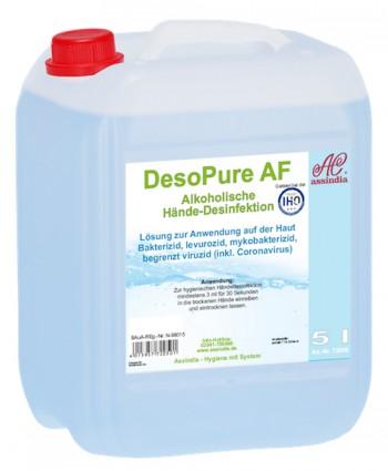 DesoPure Händedesinfektion 5 Liter