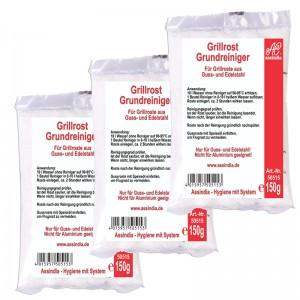 Grillrost- Grundreiniger 3x 150g