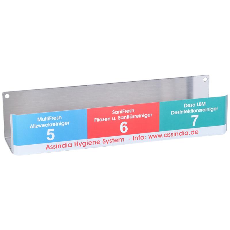 System-Regal 1 für 1000 ml Dosierflaschen