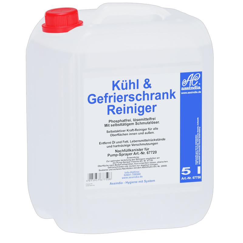 Kühl- und Gefrierschrank Reiniger 5l